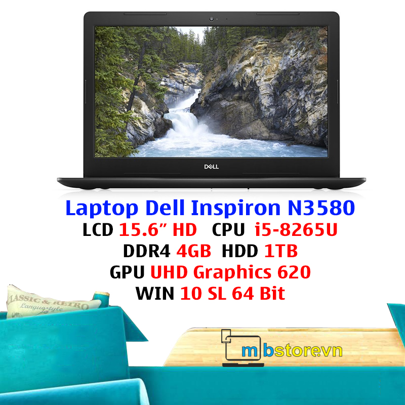 Laptop Dell Inspiron 3580-P75F106N80I