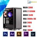 PC WORKSTATIO Intel Core i7-9700K/GIGABYTE GeForce RTX™ 2060 OC 6G