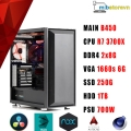 PC WORKSTASION RYZEN 7 3700X/GTX 1660 SUPER Ventus XS OC 6GB