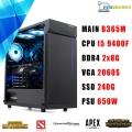 PC GAMING Intel Core i5-9400F/GIGABYTE RTX™ 2060 SUPER WINDFORCE OC 8G