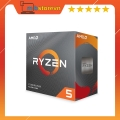 CPU AMD RYZEN 5 3600 (3.6GHz Up to 4.2GHz, AM4, 6 Cores 12 Threads) Box Chính Hãng
