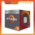 CPU AMD RYZEN 5 3400G (3.7GHz Up to 4.2GHz, AM4, 4 Cores 8 Threads) Box Chính Hãng